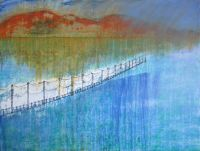 Kyles of Bute Tighnabruaich Argyll painting Sea